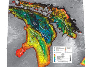 NOAA Lake Huron Bathymetry