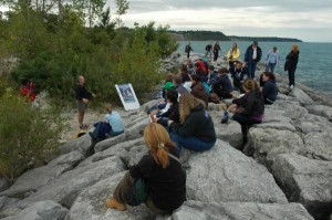 Youth_Summit_Goderich_breakwall